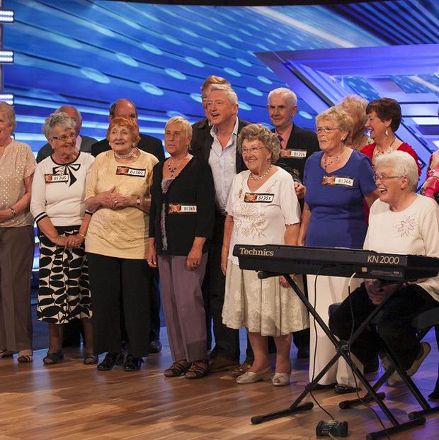 Louis Walsh meets The Nostalgics