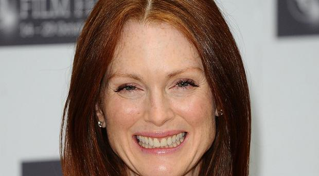 Julianne Moore grew up in the US with her Scottish mother
