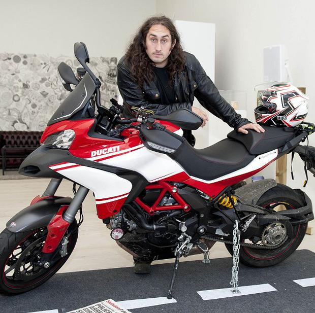 Ross Noble rode around the UK taking on challenges from Twitter for Freewheeling