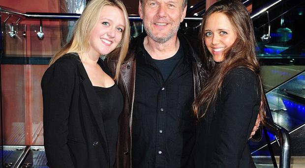 Anthony Head loves working with his daughters Emily and Daisy