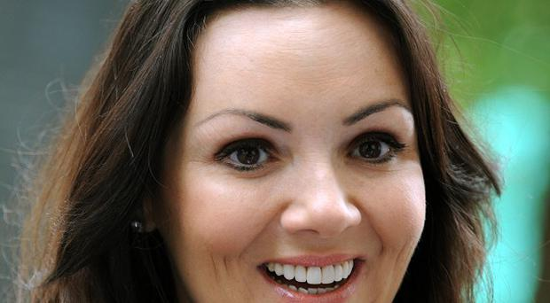Former EastEnders star Martine McCutcheon