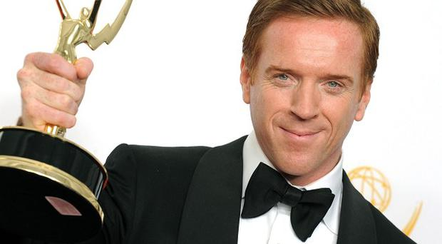 Damian Lewis missed out on the best lead actor in a drama category Emmy for Homeland (AP)