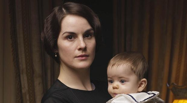 The first episode of the new series of Downton Abbey saw Lady Mary (Michelle Dockery) struggling to cope with her grief