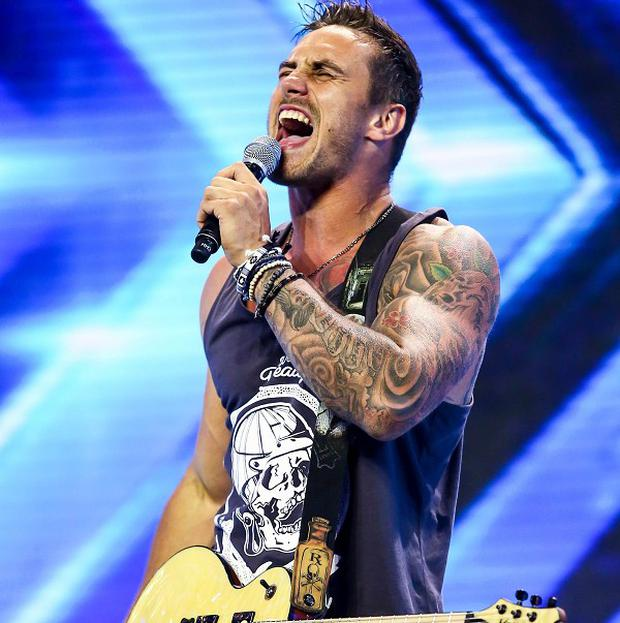 Joseph Whelan rocked out in his audition for The X Factor