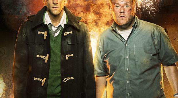 The Wrong Mans was a ratings winner for BBC Two