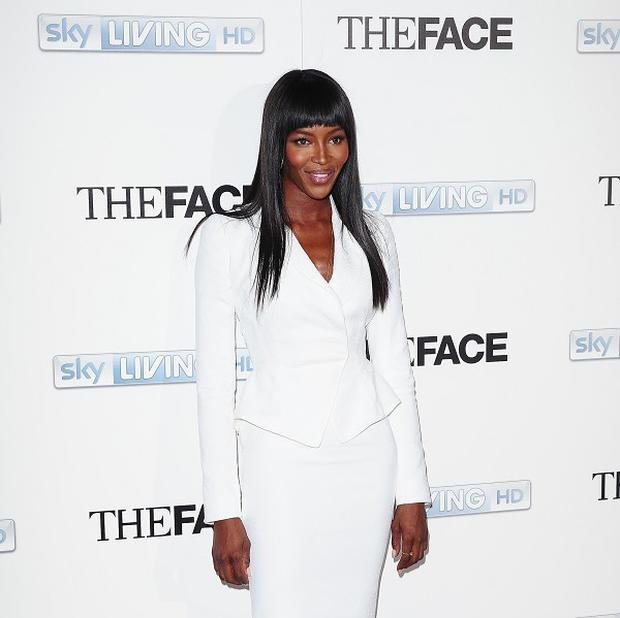 Naomi Campbell has said she gives The Face contestants