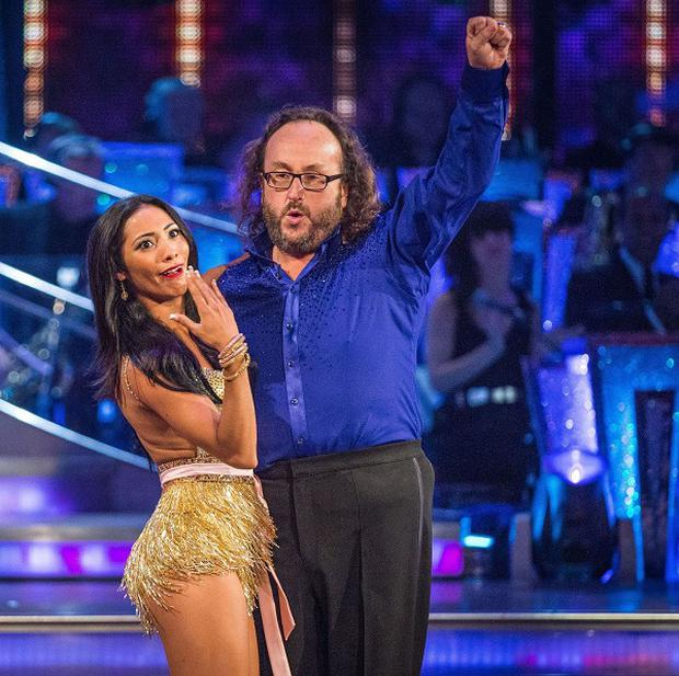 Dave Myers and Karen Hauer received the lowest score of all the contestants on the Strictly opening shows (BBC)