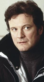 Dearly departed: Colin Firth as Mark Darcy