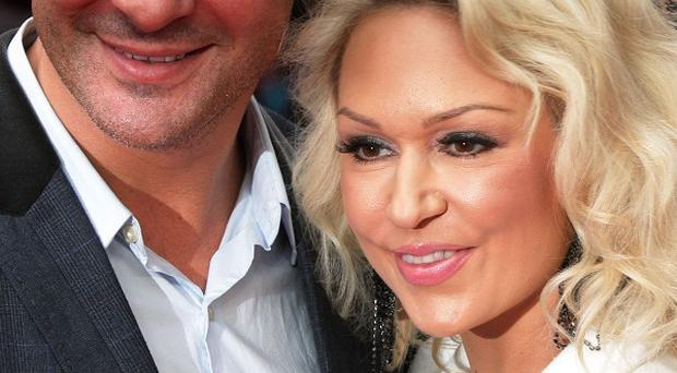 Joe Calzaghe and Kristina Rihanoff recently called it a day