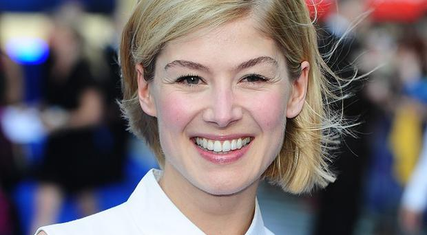 Rosamund Pike will voice Lady Penelope in the new Thunderbirds TV series