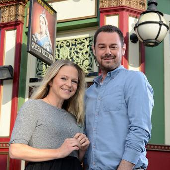 Kellie Bright and Danny Dyer who are joining EastEnders (PA/BBC)