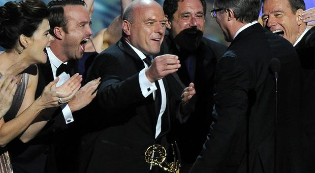 Breaking Bad triumphed at the Emmys, and can now compete for a Bafta gong, even though it is screened online in the UK