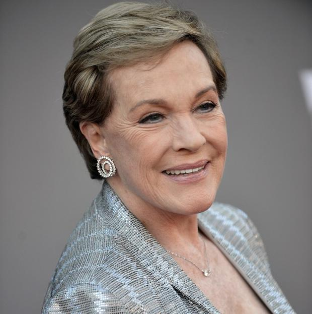Dame Julie Andrews paid tribute to Walt Disney