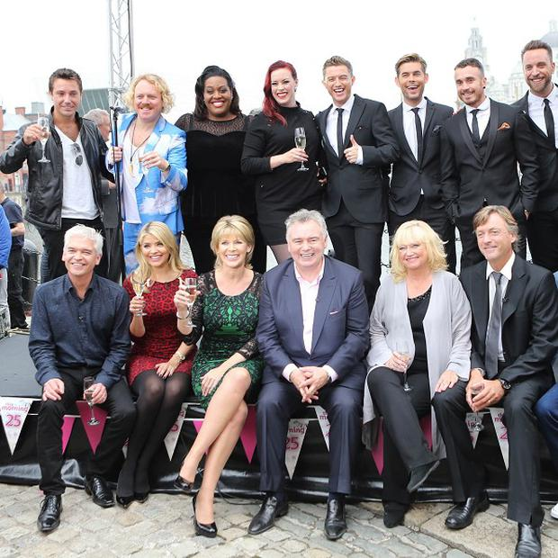 Past and present presenters of This Morning celebrated the show's silver anniversary