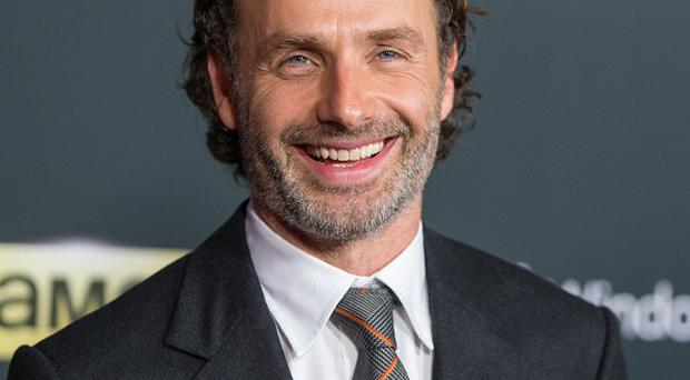 Andrew Lincoln says his British accent doesn't feel natural to him any more