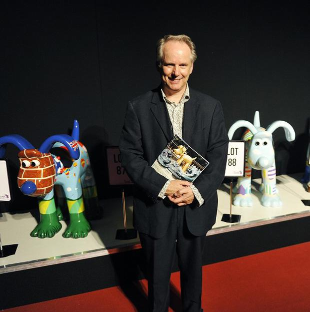Nick Park was delighted with the Gromit auction bidding