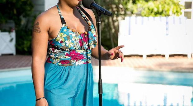 Lorna Simpson is a contestant on this year's X Factor