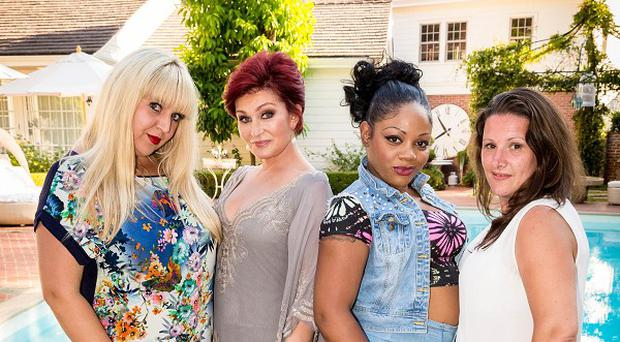 Sharon Osbourne chose Shelley Smith, Lorna Simpson and Sam Bailey for her X Factor category's final three