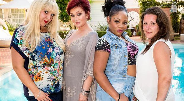 Sharon Osbourne picked Shelley Smith, Lorna Simpson and Sam Bailey for The X Factor Overs group