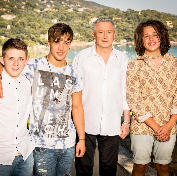 Louis Walsh thinks he has a winner amongst his three boys