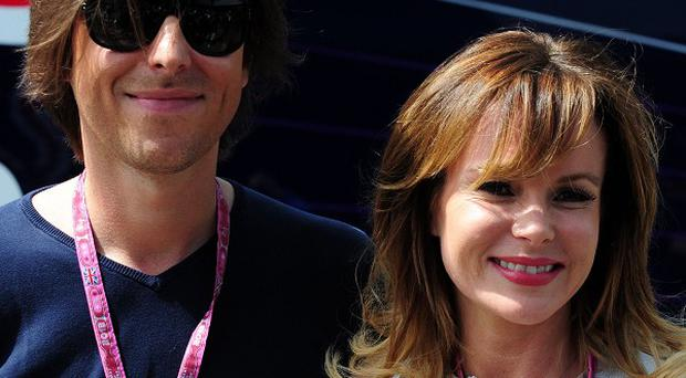 Amanda Holden said she feared husband Chris Hughes would blame her for a miscarriage