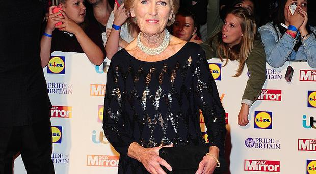 Mary Berry took up cookery because she wasn't very academic, she has revealed
