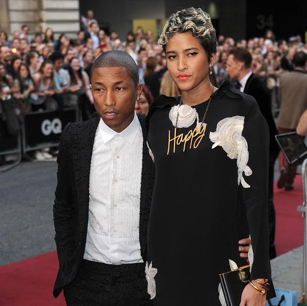 Pharrell Williams and Helen Lasichanh have apparently tied the knot