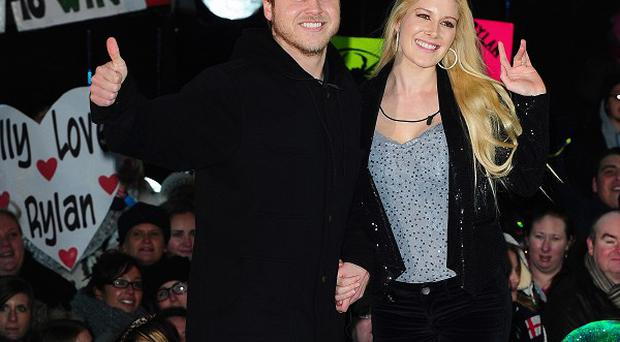 Heidi Montag and Spencer Pratt have sent their good wishes to Lauren Conrad