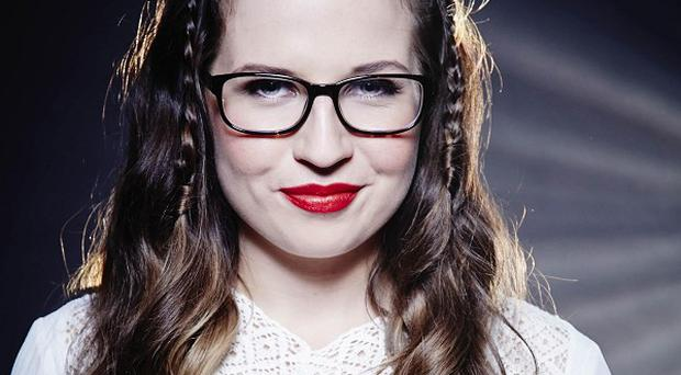 Abi Alton had a fall on The X Factor set