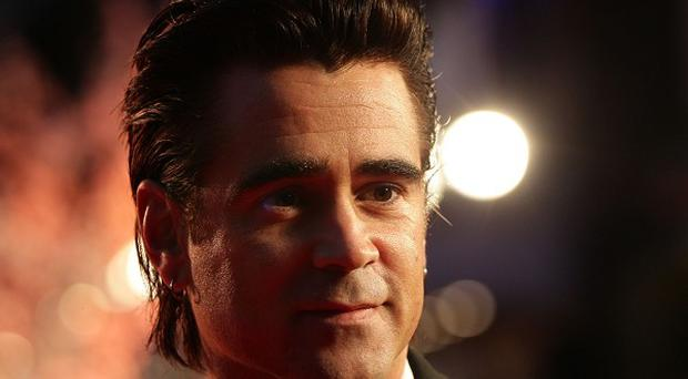 Colin Farrell says he got clean so he could be a good dad