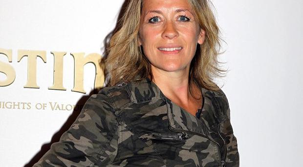 Sarah Beeny has confessed she and her husband talk about divorce all the time