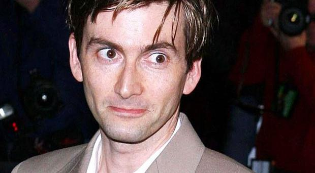 David Tennant was named best actor at the Specsavers Crime Thriller Awards 2013
