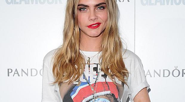 Cara Delevingne could be named British Model Of The Year