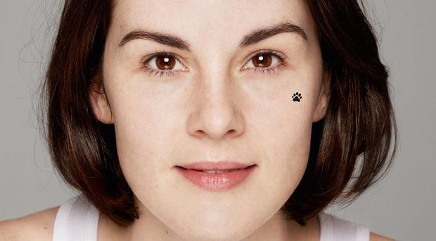 Michelle Dockery is supporting this year's BearFaced campaign