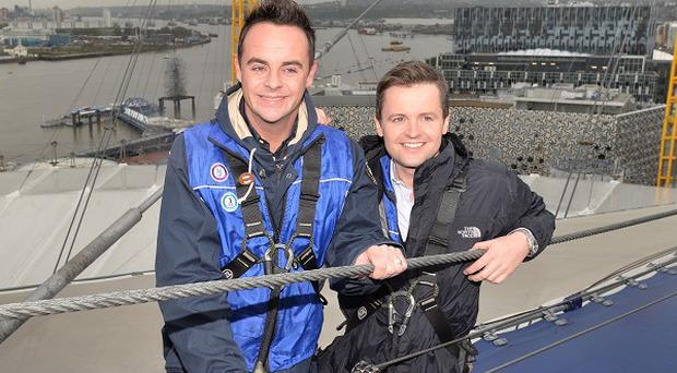 Ant and Dec are taking their TV show antics on tour