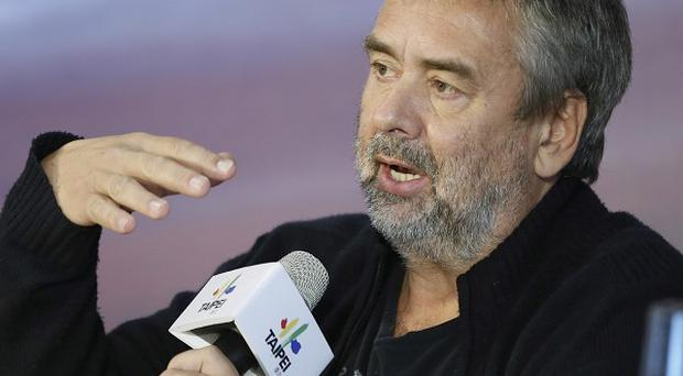 Director Luc Besson has been filming Lucy in Taiwan
