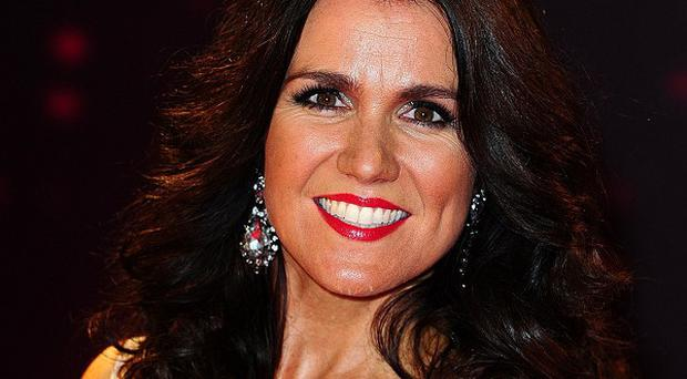 Strictly star Susanna Reid needed some help from football physios after suffering pains in her ribcage