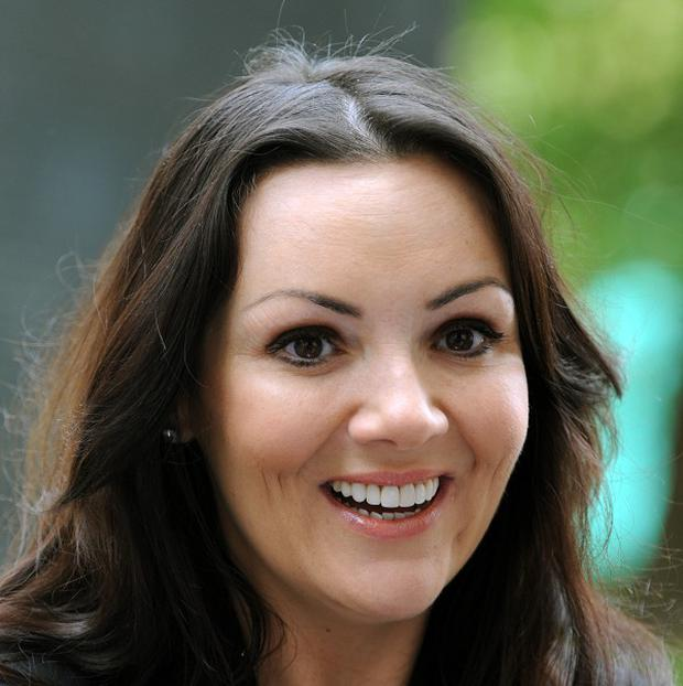 Former EastEnders actress Martine McCutcheon who has spoken of losing seven years of her life to illness, depression and financial hardship