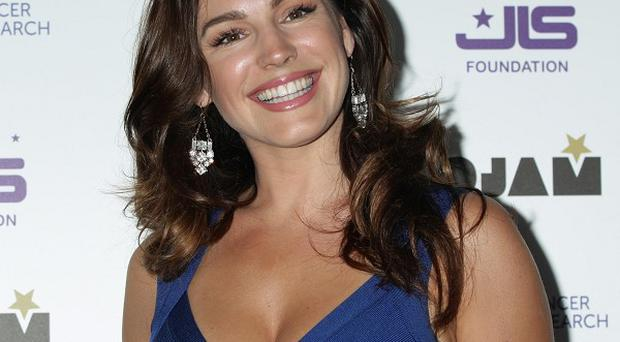 Kelly Brook was seen out with Gethin Jones in LA