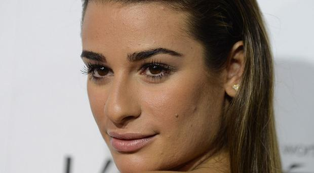 Lea Michele stayed with Kate Hudson after Cory Monteith's death