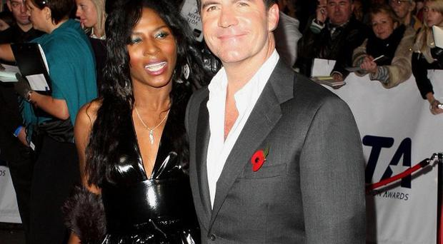 Sinitta and Simon Cowell have remained friends after dating in the 80s