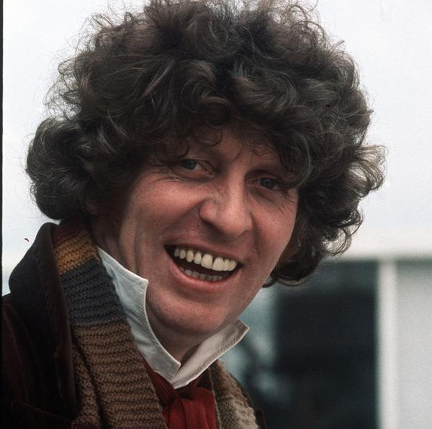 Tom Baker is still remembered fondly from his Doctor Who days