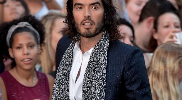 Russell Brand implored people to abandon the current political system