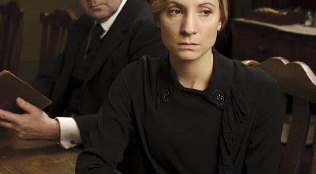 Joanne Froggatt stars as Downton Abbey maid Anna Bates