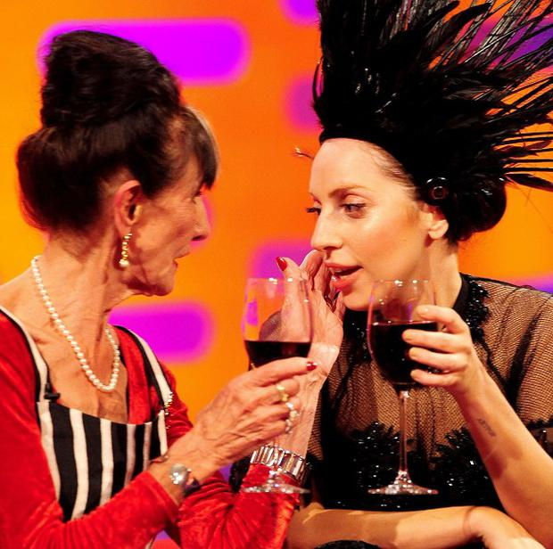 Lady Gaga and EastEnders star June Brown bonded on the Graham Norton Show