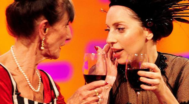 June Brown and Lady Gaga bonded on the Graham Norton Show
