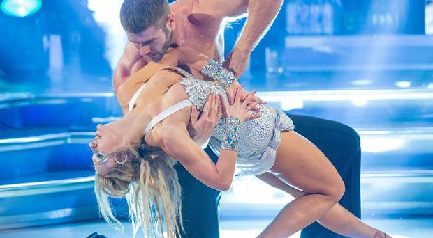 Ben Cohen wowed judges with his bare-chested performance on Strictly Come Dancing