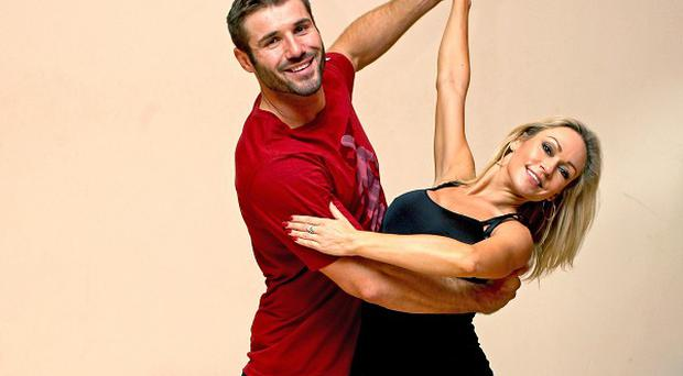Strictly Come Dancing contestant Ben Cohen and his professional dancer Kristina Rihanoff