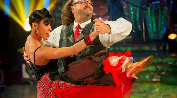 Dave Myers and Karen Hauer are the latest couple to be voted off Strictly Come Dancing