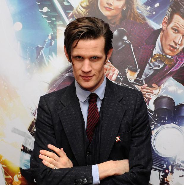 Outgoing Doctor Matt Smith has denied that the show has become too sexualised
